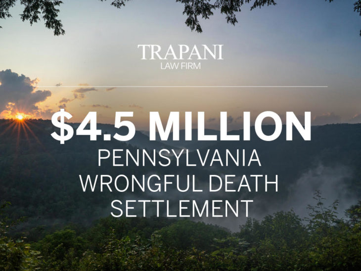 Philadelphia $4.5 Million Wrongful Death Settlement